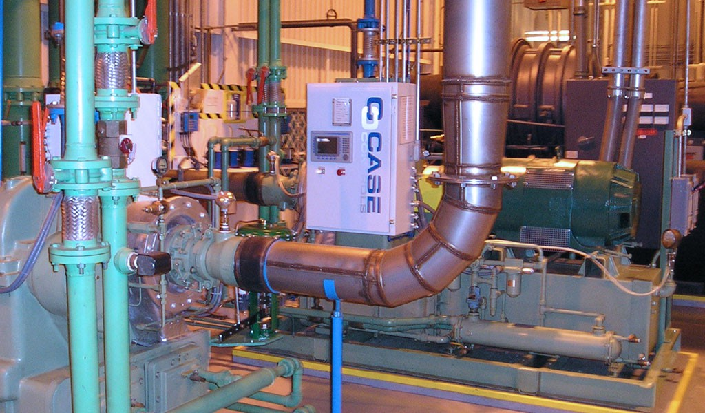 Case Controls Compressed Air System